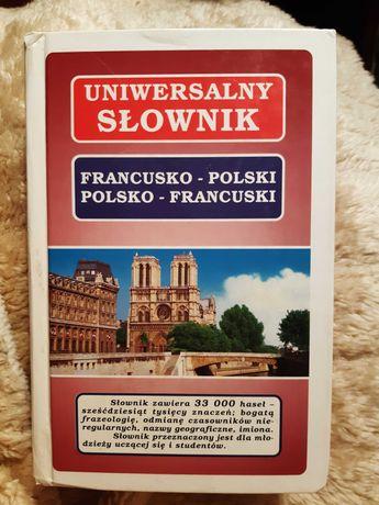 Uniwersalny słownik francusko-polski polsko-francuski
