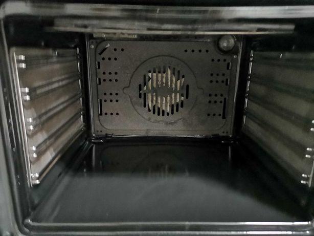Placa de fogão a gás e forno eléctrico