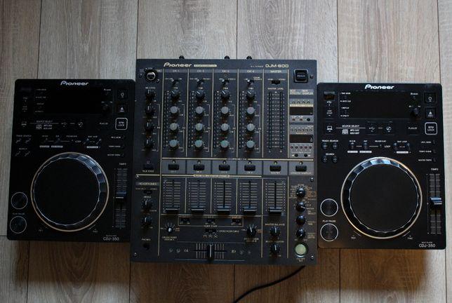 RATY 0% Pioneer konsola 2x cdj 350, djm 600,