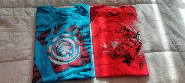 T-shirts Element M e L novas