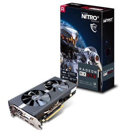 Продам видеокарту SAPPHIRE RX570 8 GB NITRO+