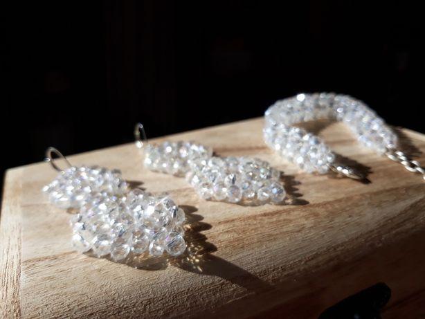 Biżuteria ślubna kryształowa