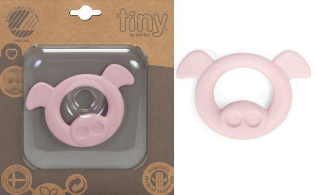 BIO Tiny gryzak ring dla niemowląt eco zabawa 0+