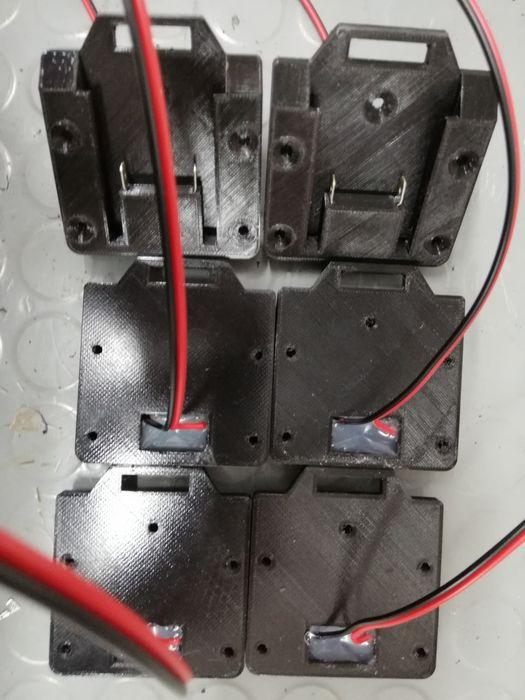 Adaptador x20v/X12 bateria parkside para recuperar aparafusadoras. Buarcos - imagem 1