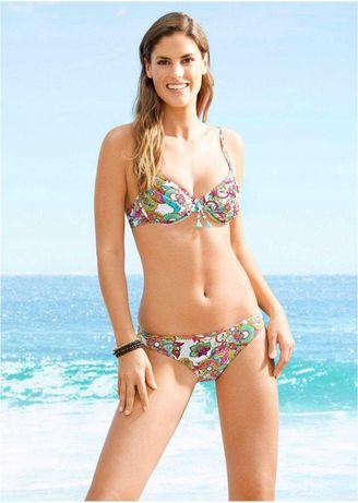 BPC Strój kąpielowy 42/XL/80B dwuczęściowy figi bikini