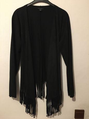 Czarna narzutka kurteczka Amisu 42