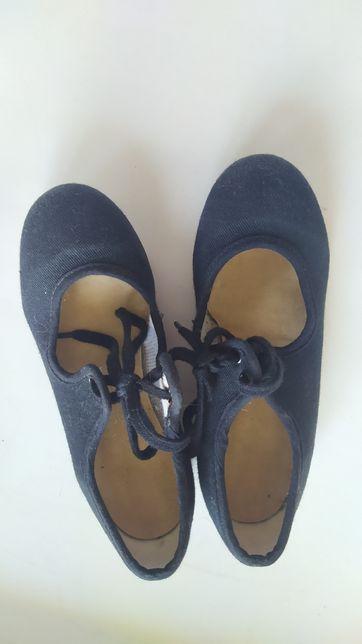 Katz Туфли для танцев степа Англия 10 размер (17-17.5см)