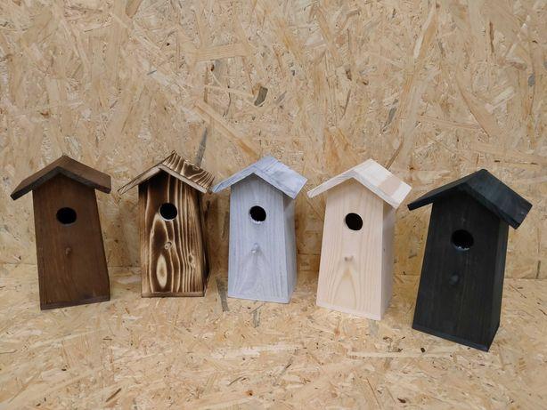 Budki łęgowe dla ptaków, do ogrodu, na działkę, do szklarni