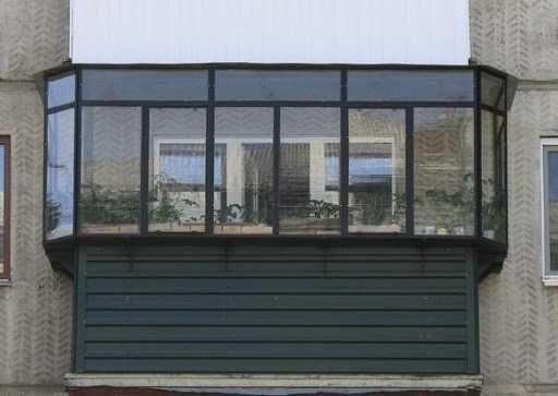 Балконы любой сложности под заказ. Производство металлоконс. и монтаж.