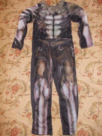 Карнавальный костюм Оборотень,Арлекин,Мумия на 9-10 лет 134-140см