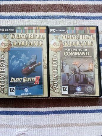 Gry PC  Wojny, bitwy, kampanie. Żołnierze. Silent Hunter II, Destroye