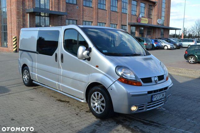 Renault Trafic  Long 2,5 DCI 140 Konny 5 Osobowy Zabudowa Holenderska Full Opcja !!!