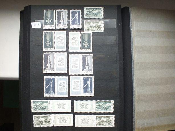 znaczki Fi1384/1388 pw kombinacja,Polska 1964r.,kasowane,klej stan**