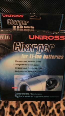 Carregador de pilhas/baterias de iões de lítio (lithium ion) universal