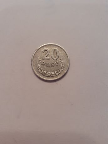 Moneta 20 groszy z 1976 roku