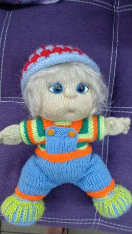 Кукла вязанная (игрушка) ручная работа