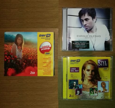 PŁYTY Enrique Iglesias Greatest hits, RMFON Polskie przeboje Styl Lana