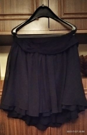 Czarna spódniczka z tiulem - C&A - rozmiar 44