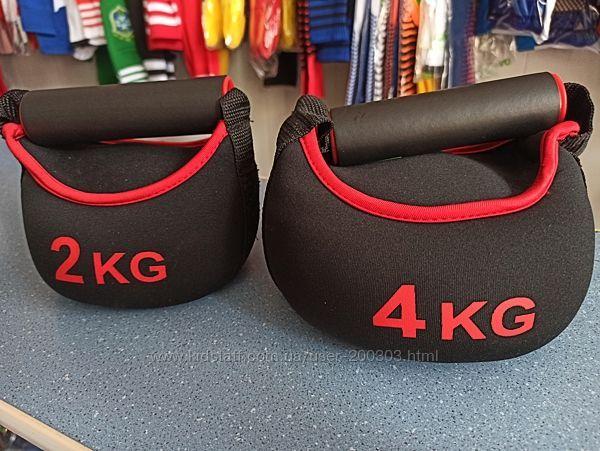 Гиря 2 и 4кг IronMaster