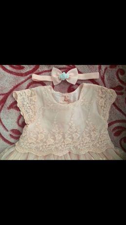 Шыкарное нарядное платье для принцески