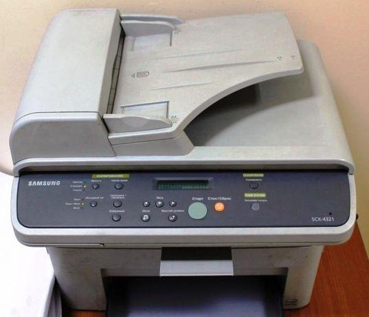 нерабочий МФУ Samsung SCX 4321 (4521) , по запчастям или целиком