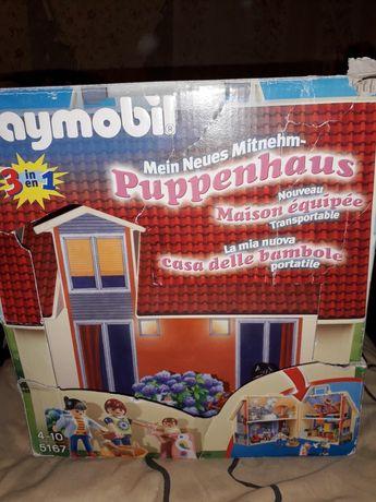 Playmobil дом, кукольный домик
