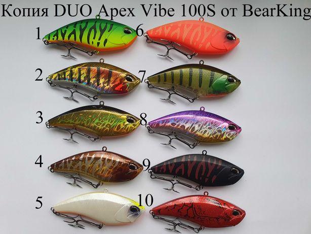 Новинки от BearKing!!! DUO Apex Vibe 100S и Tide Minnow Slim 175F