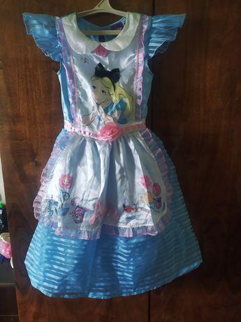 Продаю костюм Алисы на 9-10 лет(Алиса в стране чудес).