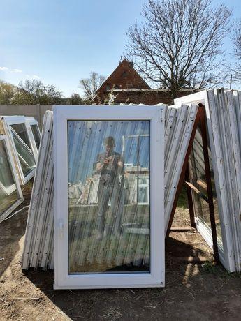 Okna 90x148 z Niemiec 16 sztuk Dowóz cały kraj