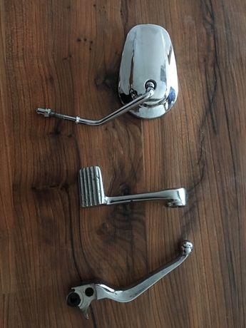 Harley Davidson Custom lusterko klamka