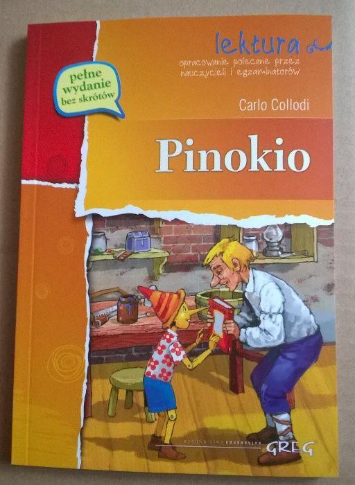Pinokio. Nowa książka.Lektura. Olkusz - image 1