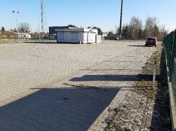 Do wynajęcia Plac 2200m2 przy samej trasie E-7 wylot Warszawa-Gańsk