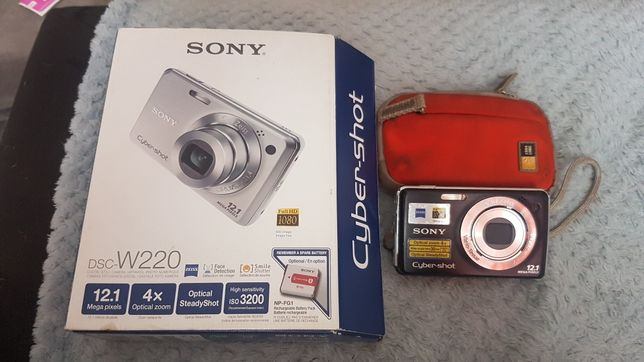 Máquina fotográfica Sony cyber-shot Dsc w220