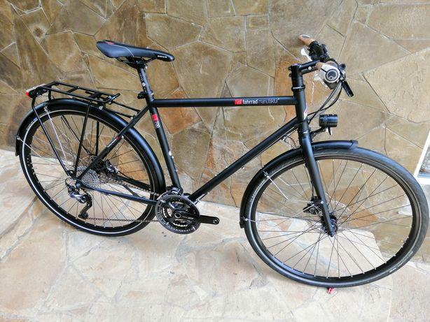 Велосипед туринг хромоль Fahrrad manufaktur t 700 cube scott