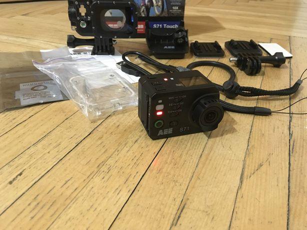Экшен камера АЕЕ s71t, полный комплект. Для дайвинга