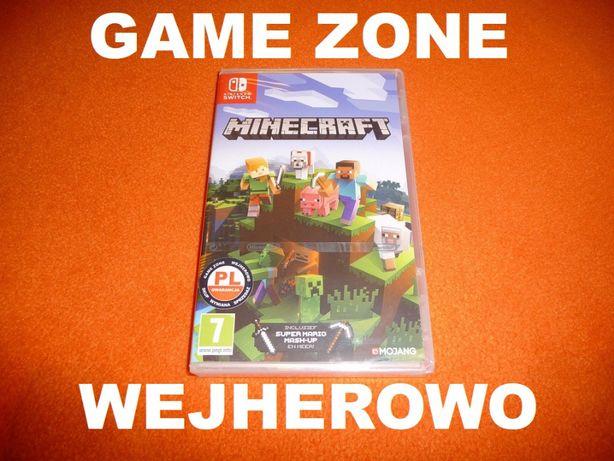 Minecraft Nintendo SWITCH Wersja PL = sklep Wejherowo