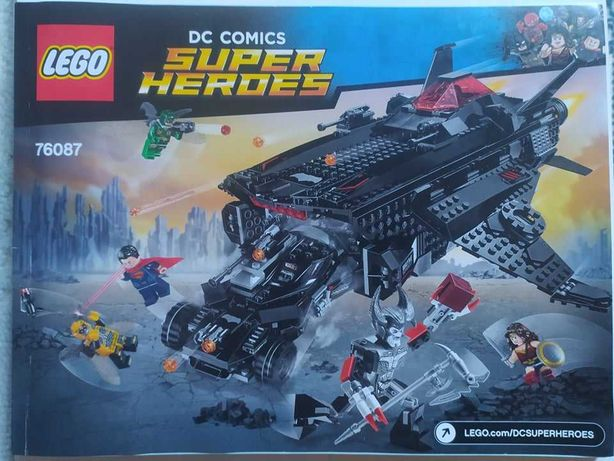 Lego 76087 Justice League: Flying Fox: Batmobile Airlift Attack