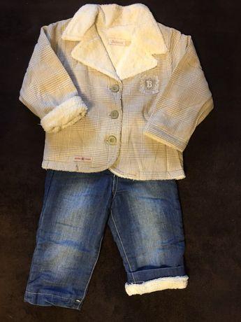 Стильный детский осенне-весенний костюм 12 мес.