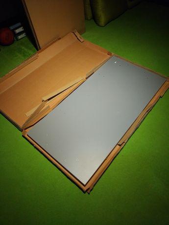 Blaty biurowe 4 szt. Kolor siwy 140x70