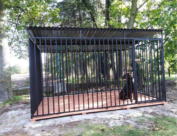 Kojec dla psa 4x2m, klatka, boks, zagroda
