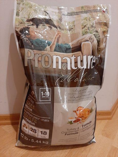 Pronature holistic Пронатюр холистик индейка клюква -корм для кошек.