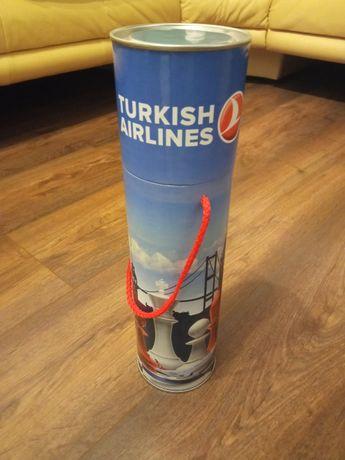 Szachy turystyczne w tubie - gadżet Turkish Airlines