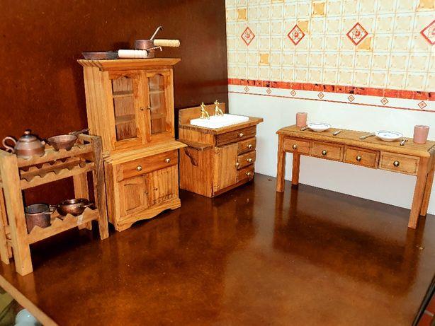 Mobilias em miniatura rm madeira de qualidade