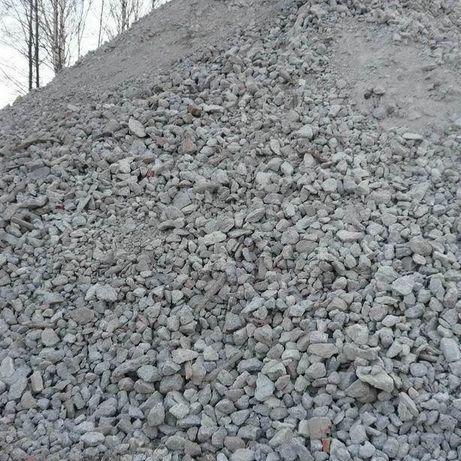 Вторичный щебень, песок, чернозем, глина, отсев, жерства доставка.