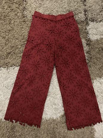 Стильные штаны брюки кюлоты Zara