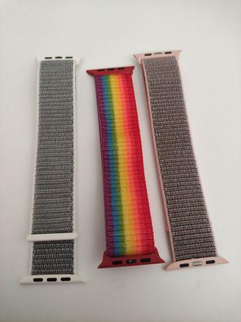 Braceletes de Nylon e Metal para Apple Watch