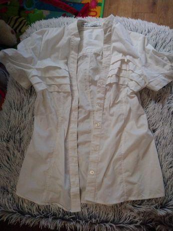 Koszula Next krótki rękaw S biała