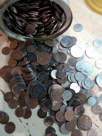 Монеты 1, 2, 5 коп.