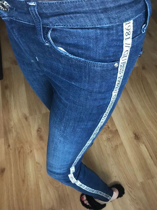 Guess jeansy jeans spodnie lampasy z lampasami Rzeszów - image 1