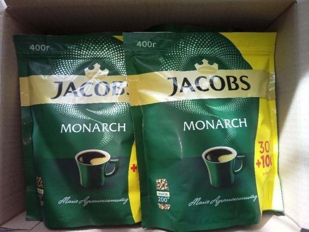 Растворимый кофе якобс монарх 400 г супер качество! Европа!